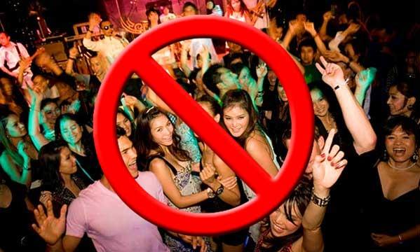 Cierran las discotecas
