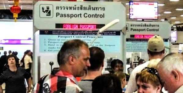 Inmigración Tailandia