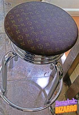 Silla Louis Vuitton lujo asiático