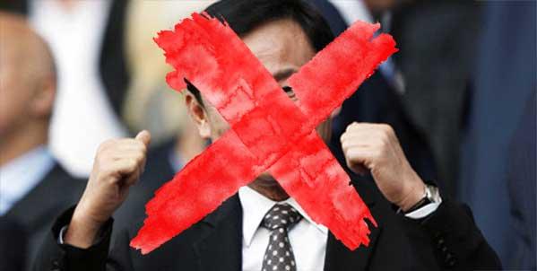 censura en Tailandia Thaksin Shinawatra