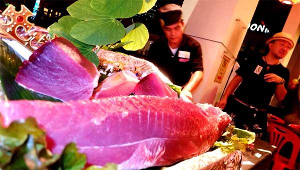 Shakariki 432 restaurante japonés Bangkok Tailandia