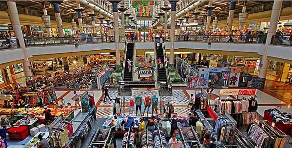 Centro comercial en Pattaya