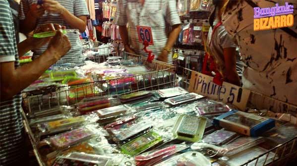 Compras en Bangkok mercadillo