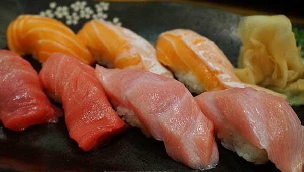 El pescado de Sushi Masa es de calidad excelente.