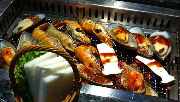 yakiniku bangkok comer japonés