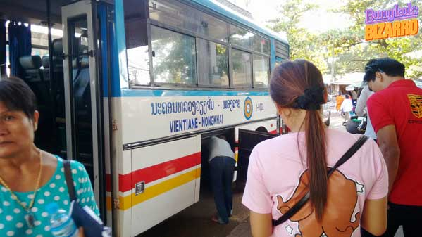 Bus Vientián Nong Khai