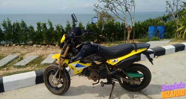 Alquiler moto Koh Samed Tailandia