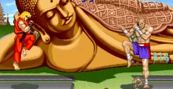 Sagat Street Fighter II