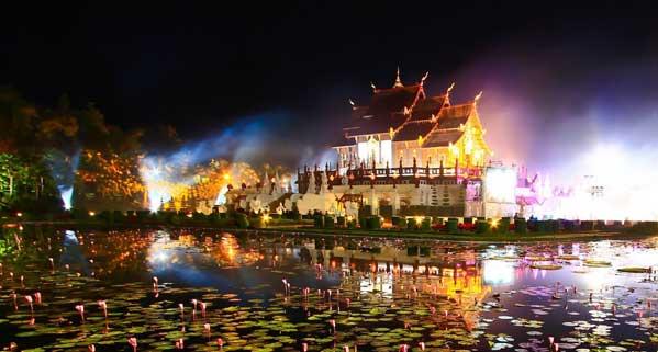 templo vivir en Chiang Mai