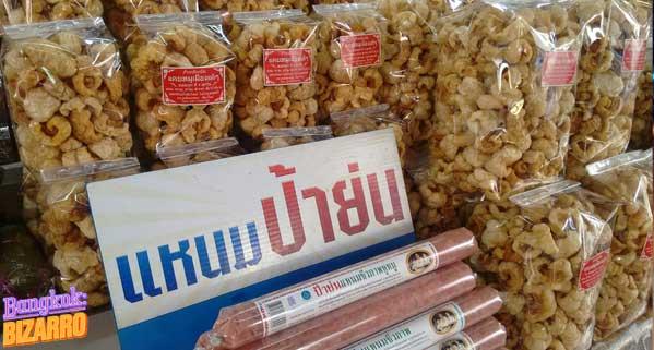 cortezas de cerdo Tailandia