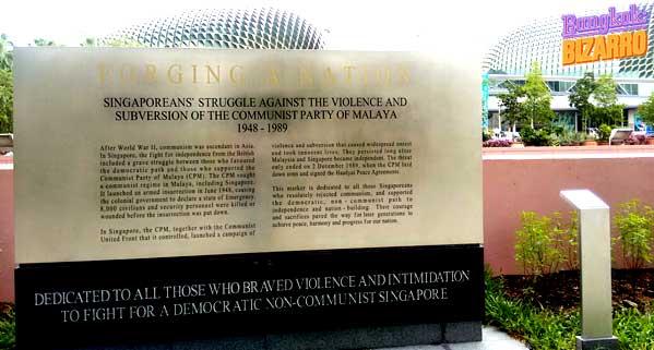 Singapur democracia nacion durian