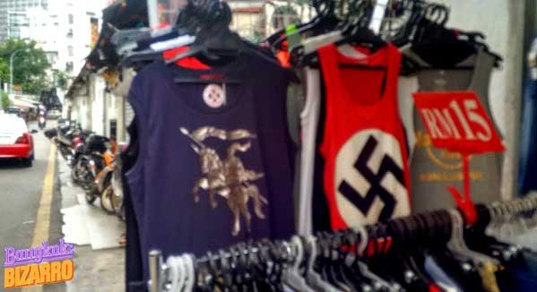 camiseta nazi malasia