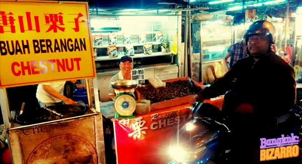 Castañas Malasia Kuala Lumpur