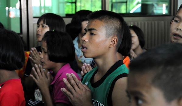 Niños Sida en Tailandia