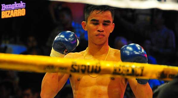 boxeador muay thai