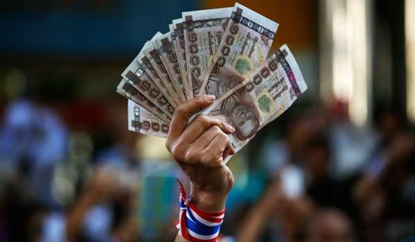 Crisis en Tailandia bahts