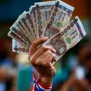 baht dinero tailandia