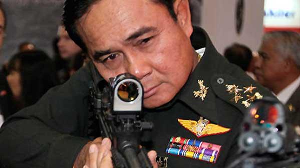 Prayuth dispara