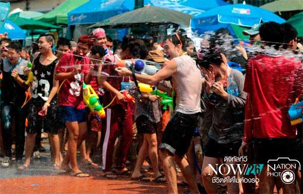 Songkran fiesta Bangkok Khaosan