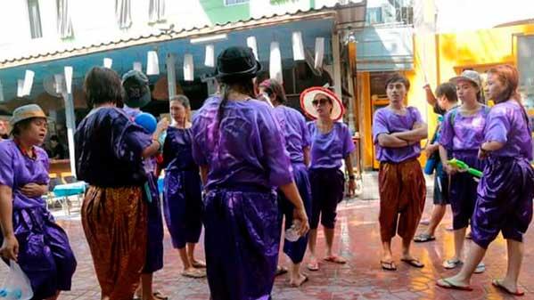 Songkran tradicional