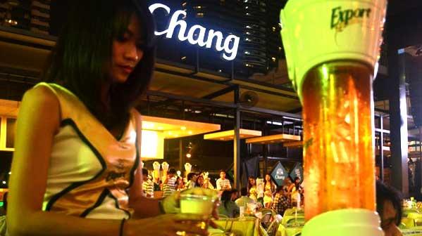beer garden Bangkok