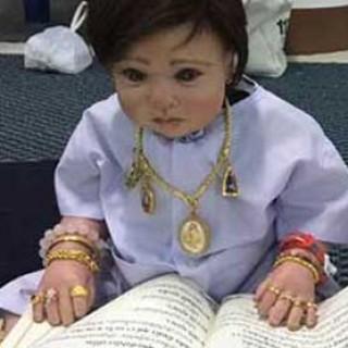 muñecos tailandeses