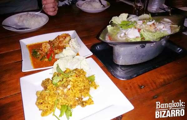Koh Mak seafood