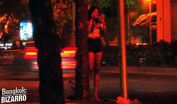 Prostitución callejera Bangkok