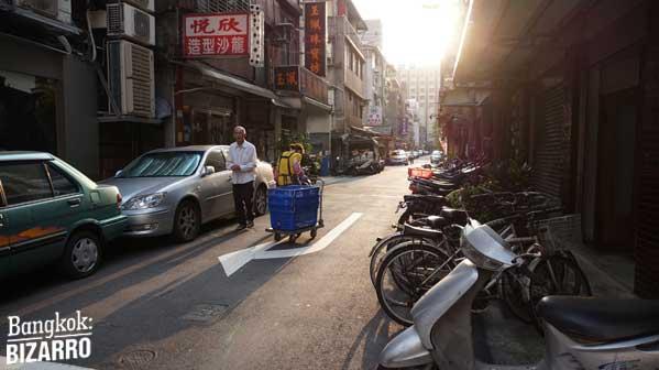 Calles Taipei