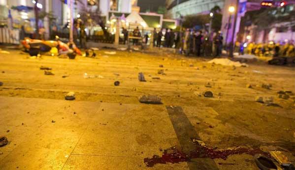 Atentado bomba Bangkok