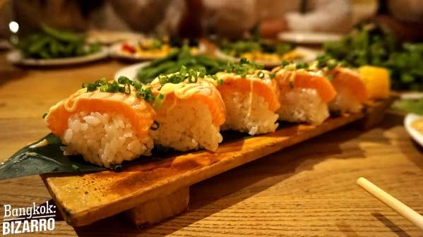 Mekiki no ginji japonés bangkok