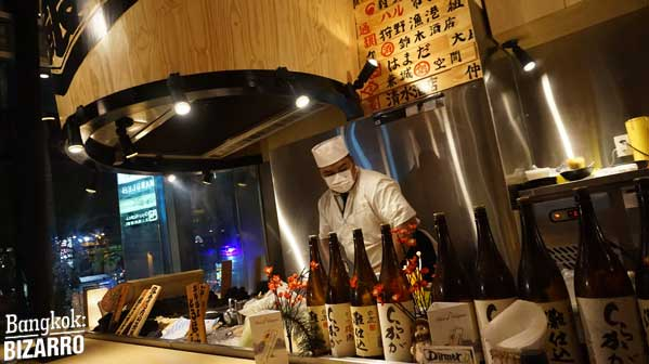 Mekiki no ginji restaurantes japoneses en Bangkok
