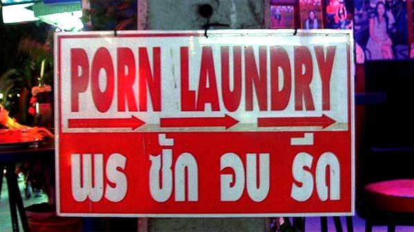Lavandería en Tailandia Porn Laundry