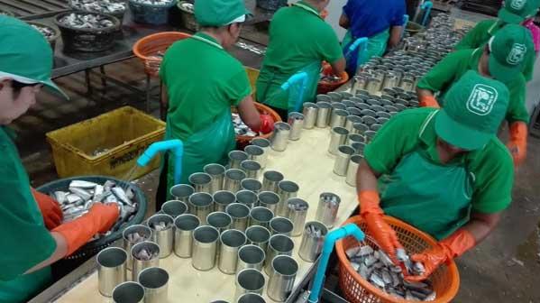 fábrica pescado Tailandia
