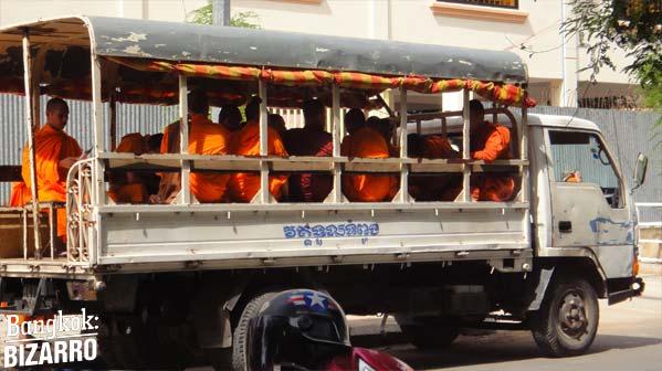 Monjes Camboya