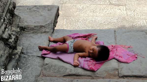 Niño camboya