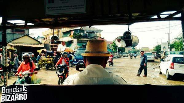 tuk-tuk en camboya Phnom Pehn