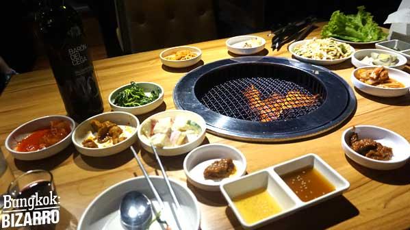 kosirae restaurante corean en Bangkok