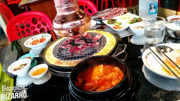 mapogalbi comida coreana ternera