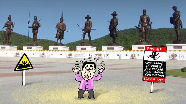 Prayuth Tailandia corrupcion