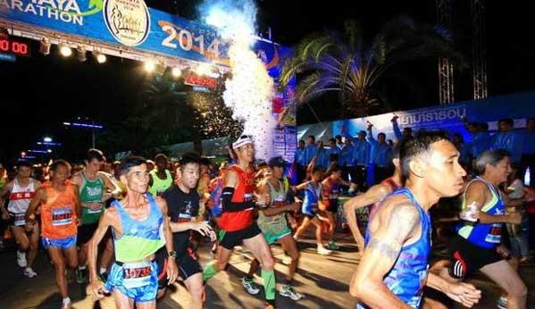 Maraton de Pattaya Tailandia