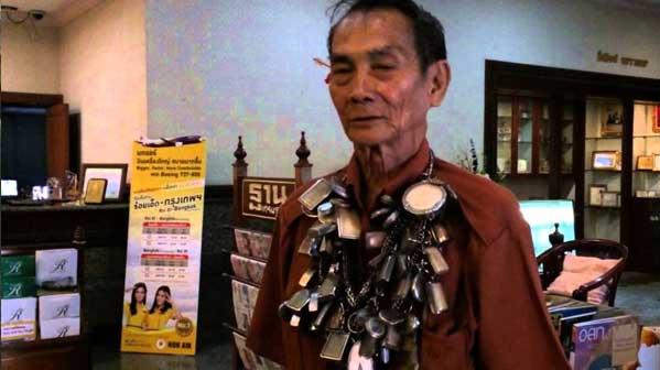 hombre talisman tailandés
