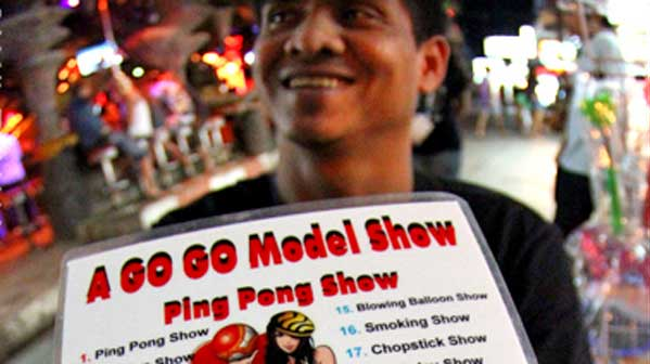 ping pong show bangkok