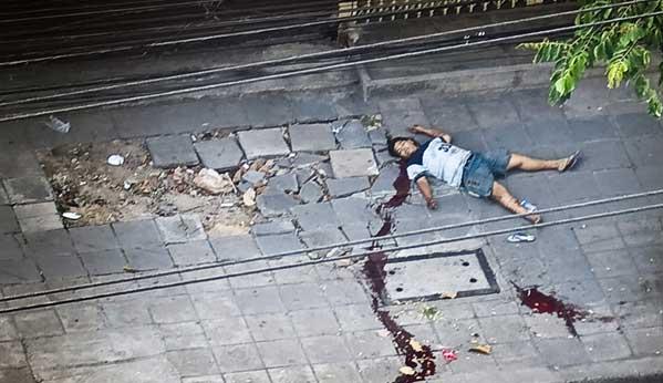 Muerto en Tailandia disparo