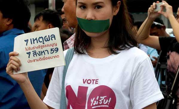 Referéndum Tailandia constitución 2016