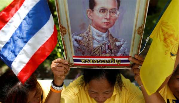 Muerte Rey Tailandia