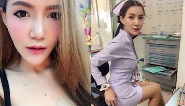 Enfermera tailandesa sexy