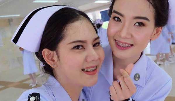 Enfermeras tailandesas