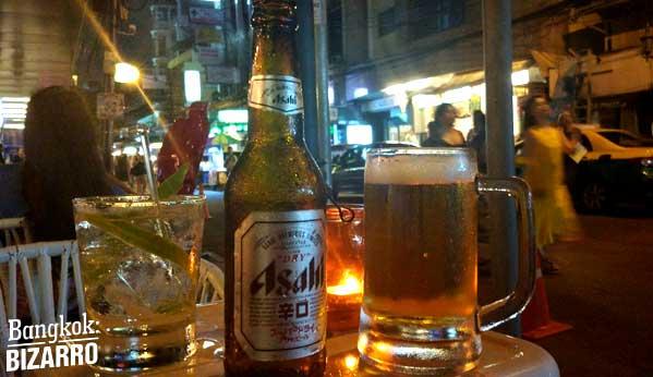 Cerveza en Bangkok