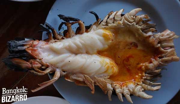 Restaurante marisco Tailandia Ayuthaya